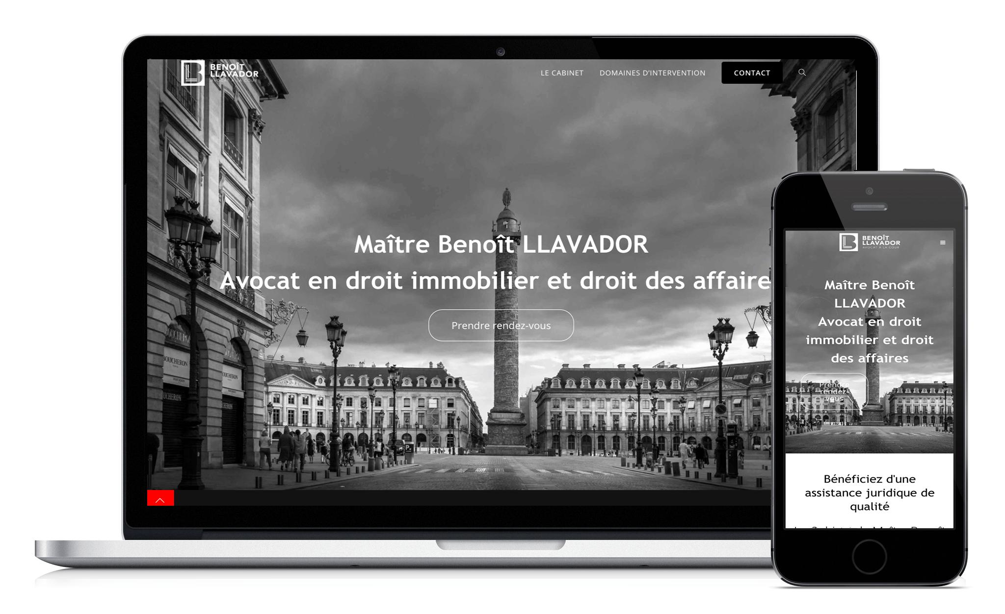 Conception du site Web de Llavador